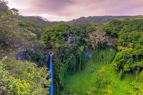 Makahiku Falls Maui Waterfalls