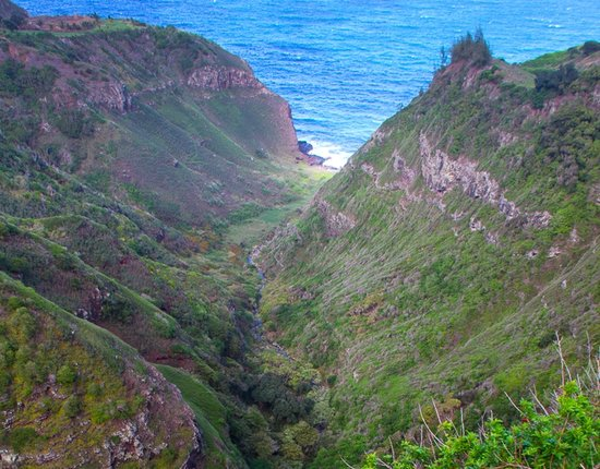 Makamaka'ole Falls Maui Waterfalls