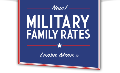 Military Family Rates Badge