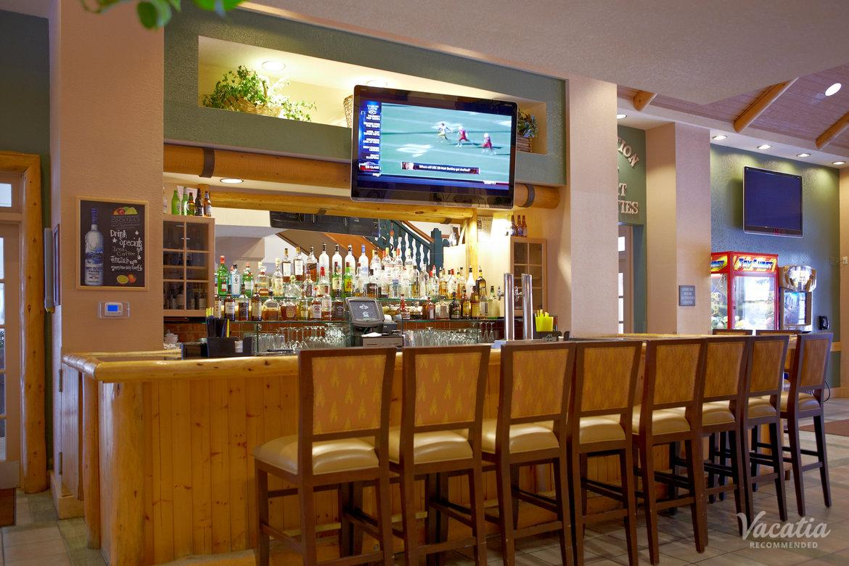 Bar. Lake Tahoe Vacation Resort by Diamond Resorts-4. Resort entrance