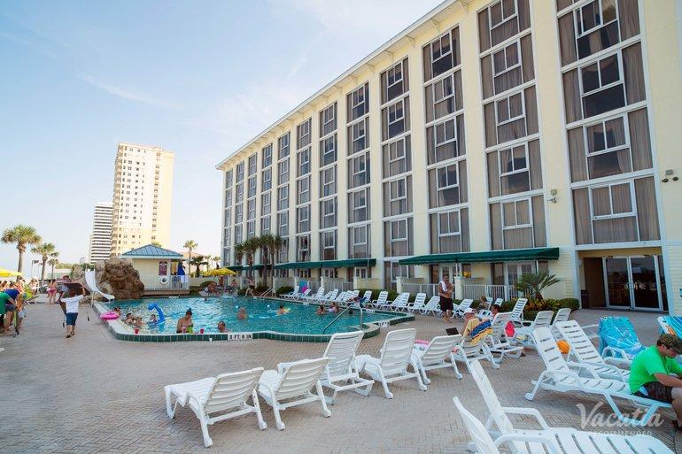 Grand Seas By Exploria Resorts Timeshare Resort In Daytona Beach Florida Pool Area