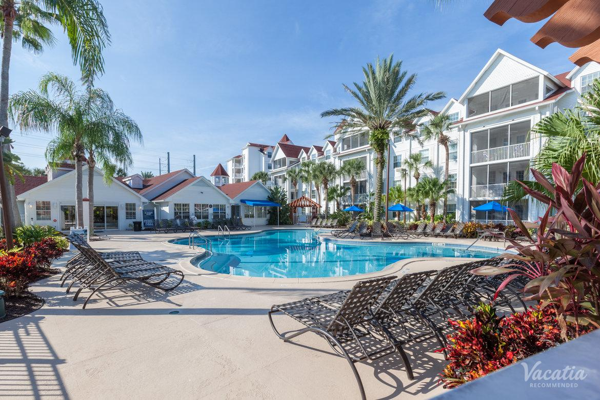 Poolside Lounge Chairs Residence Interior Lakeside Deck Grand Beach By Diamond Resorts