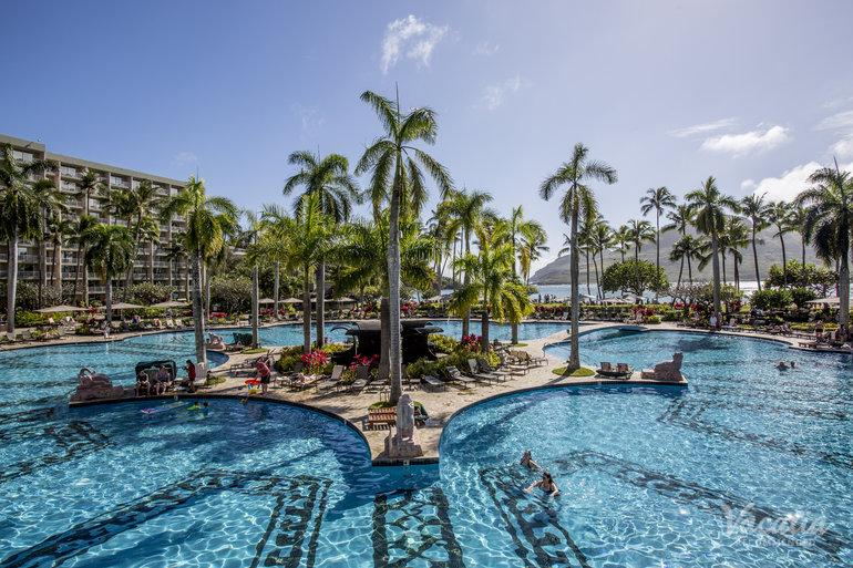 Timeshare Resort In Lihue Hawaii Marriott Vacation Club Pool Area