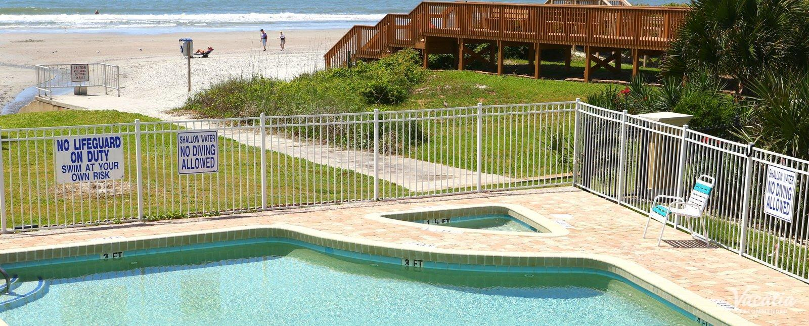 Beach House Golf and Racquet Club watch ocean from pool