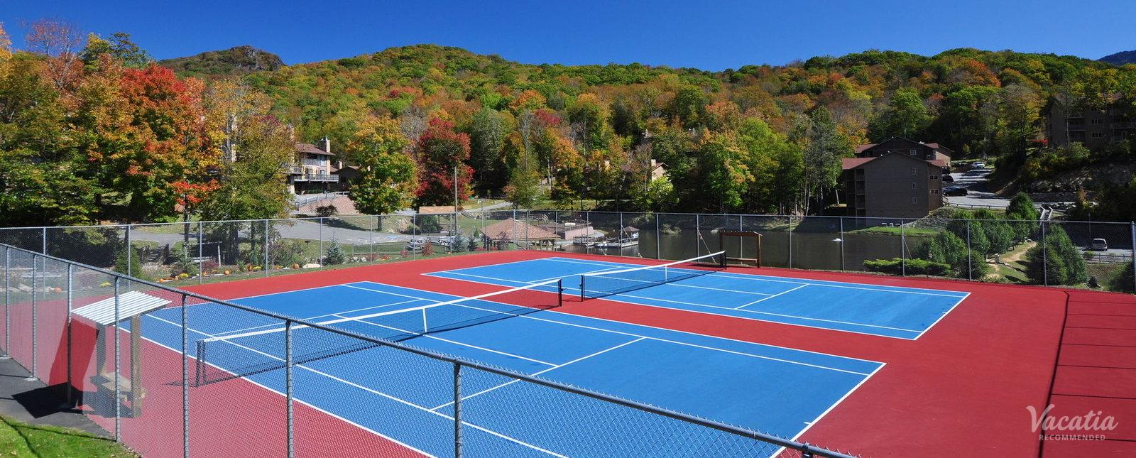 Bluegreen Vacations Blue Ridge Village Tennis Courts