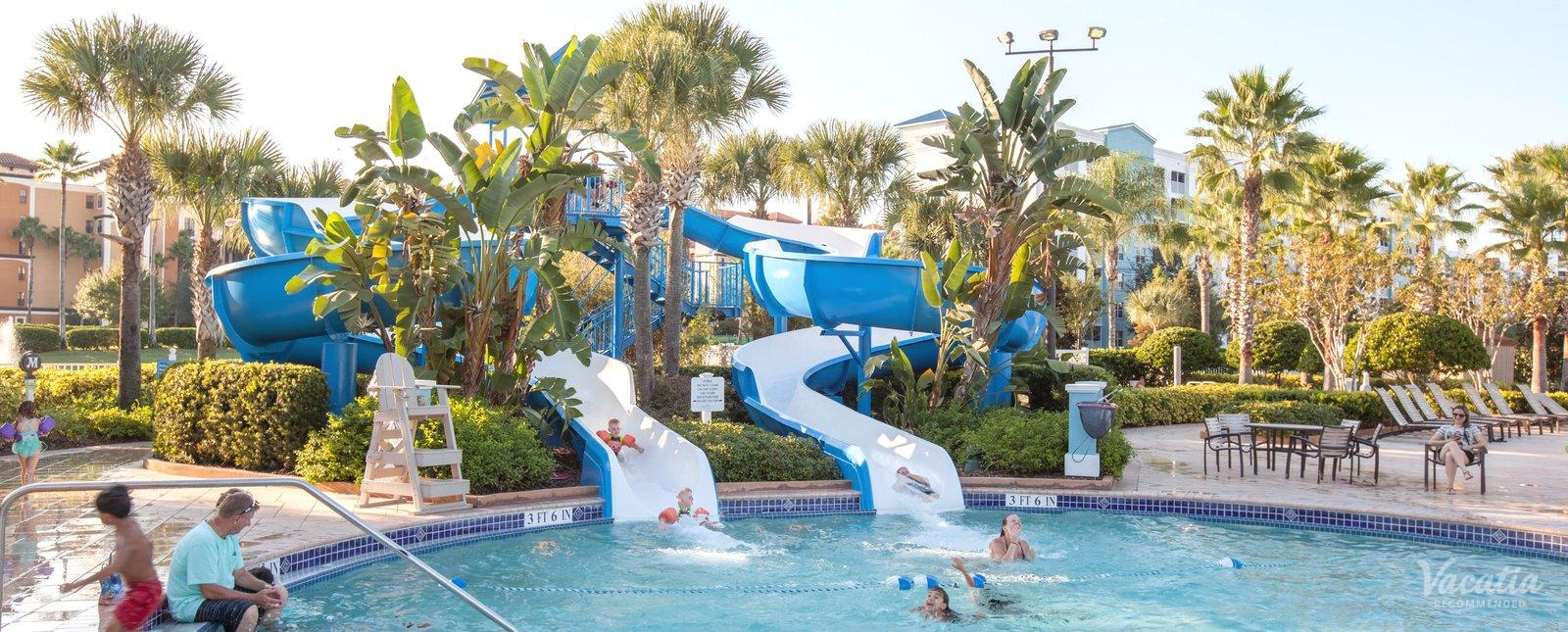 Bluegreen Vacations Fountains Water Slides