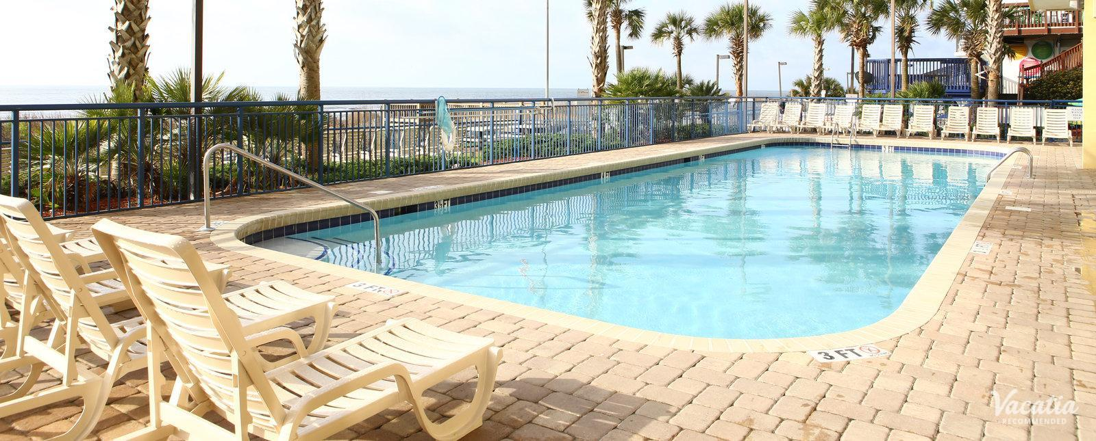 Grand Atlantic Ocean Resort family friendly pool