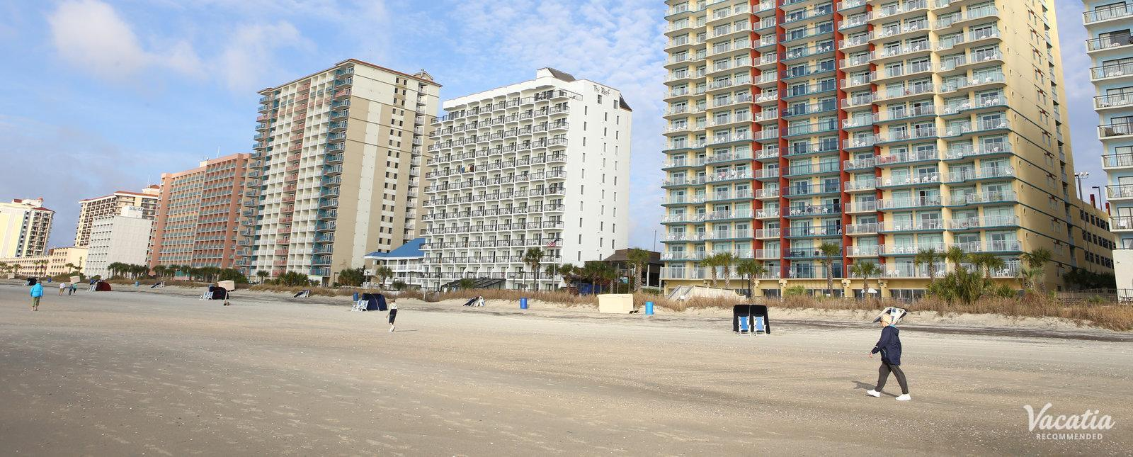 Grand Atlantic Ocean Resort on grand strand beaches