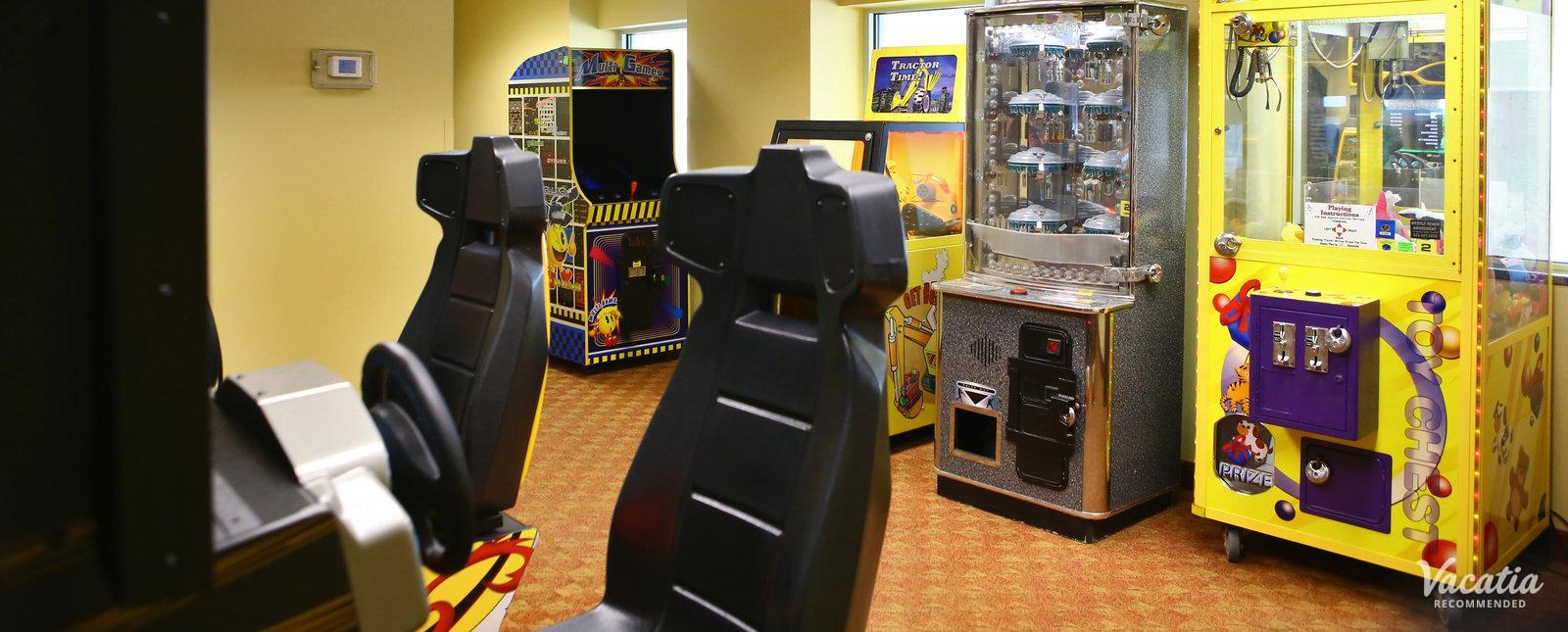 Grand Atlantic Ocean Resort resort arcade room