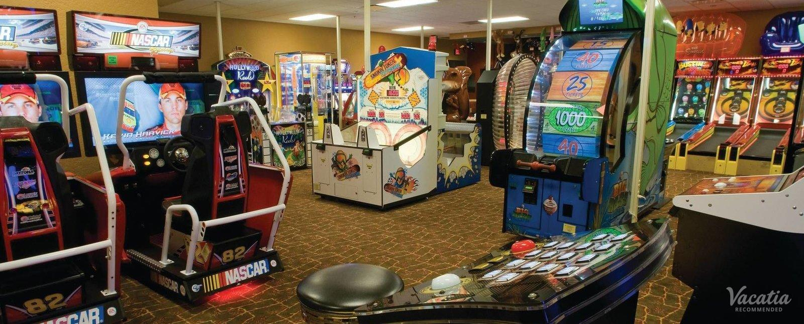 Great Smokies Lodge Wyndham Game Room