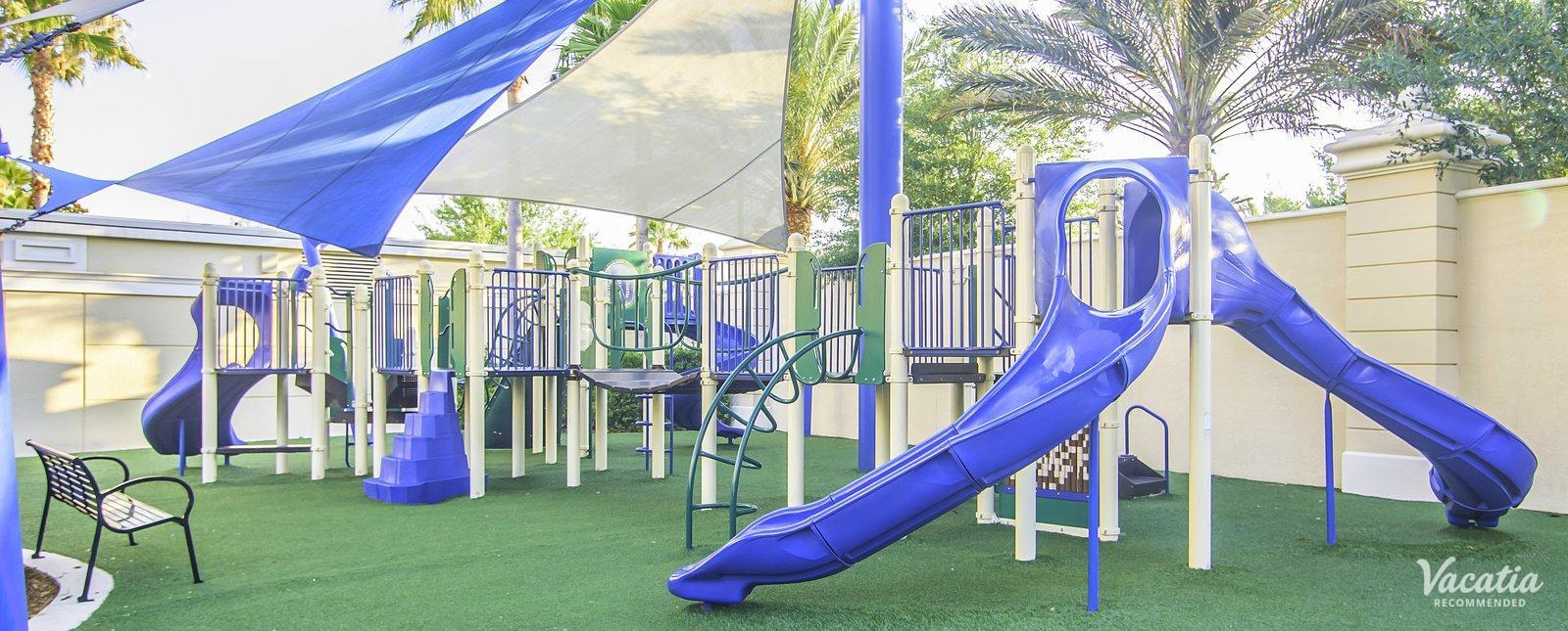 Hilton Grand Vacations Club, Parc Soleil Suites playground area for kids