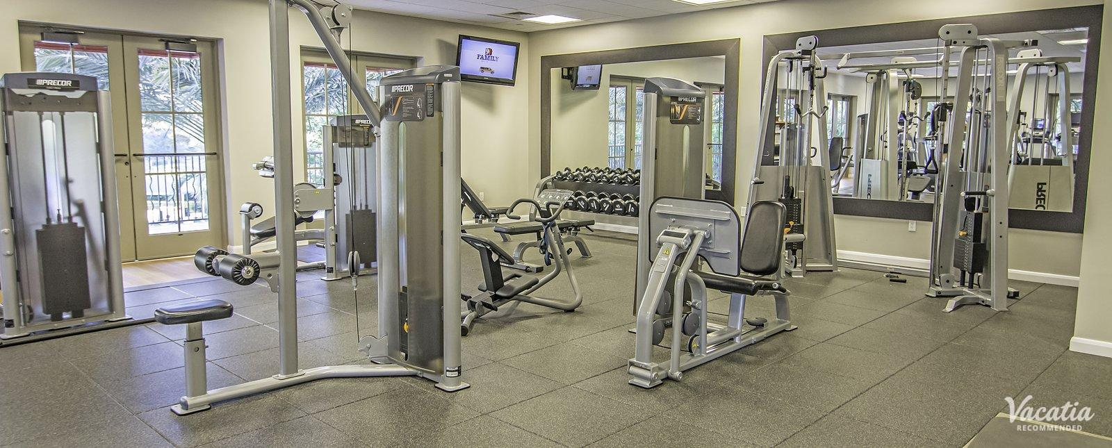 Hilton Grand Vacations Club, Parc Soleil Suites resort workout gym