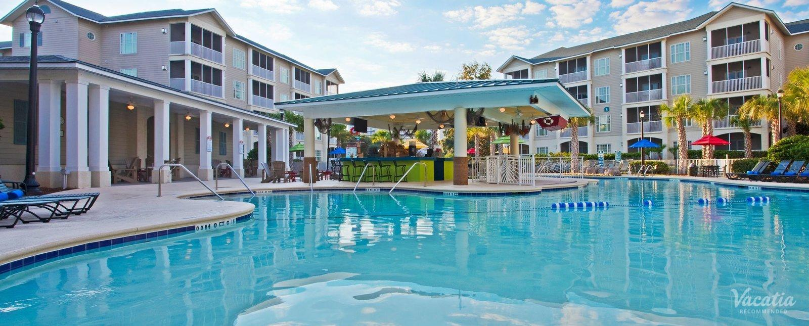 Holiday Inn Club Vacations Myrtle Beach South Beach family friendly pool