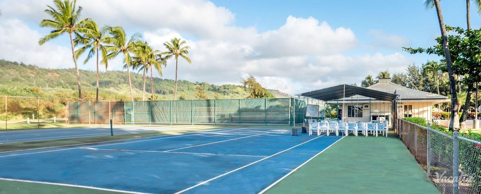 Kauai Beach Villas Tennis Courts