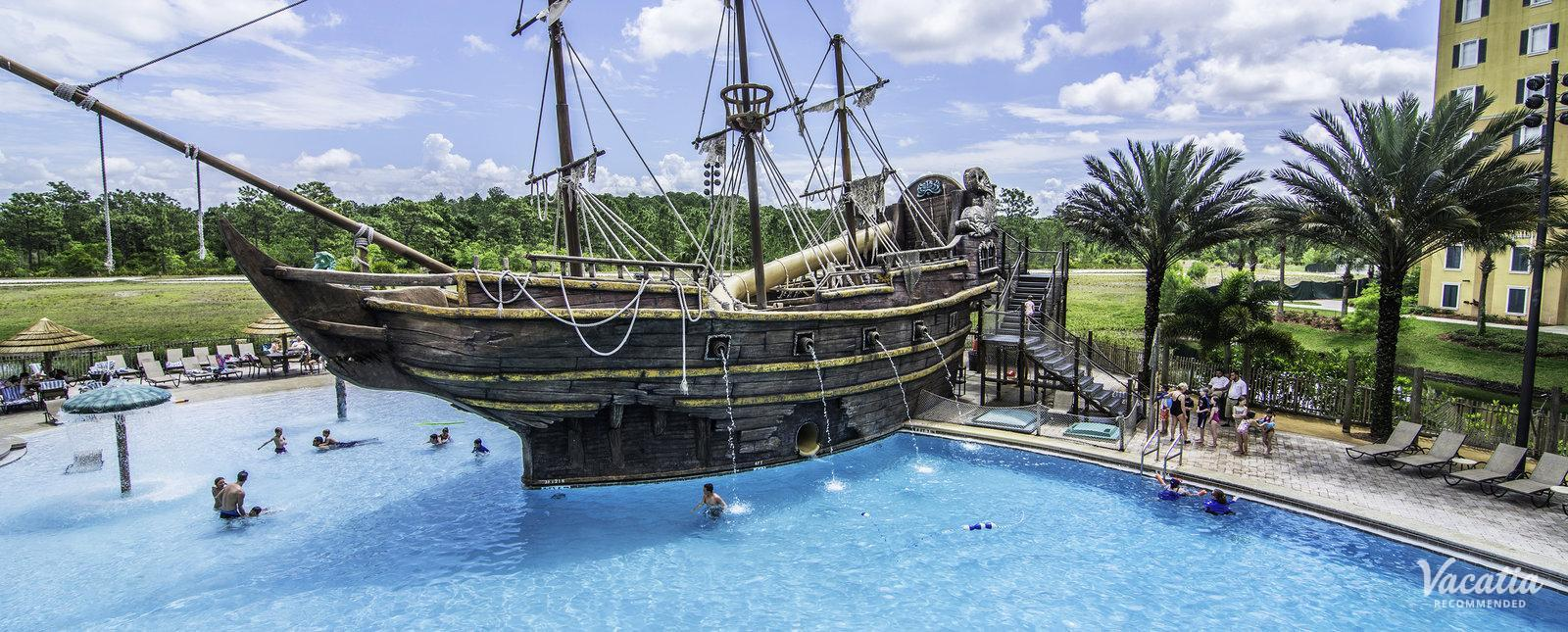 Lake Buena Vista Resort Pirate Ship