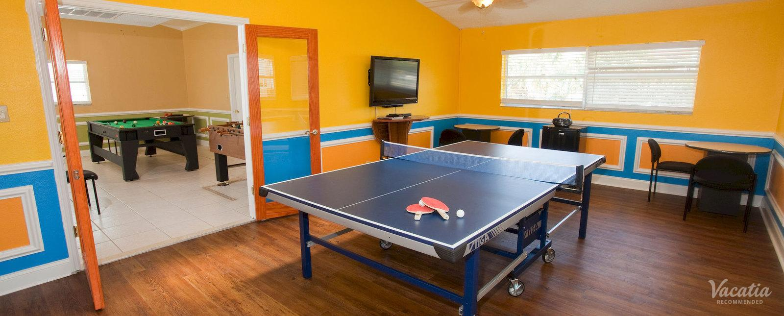 Legacy Vacation Resorts Indian Shores Game Room