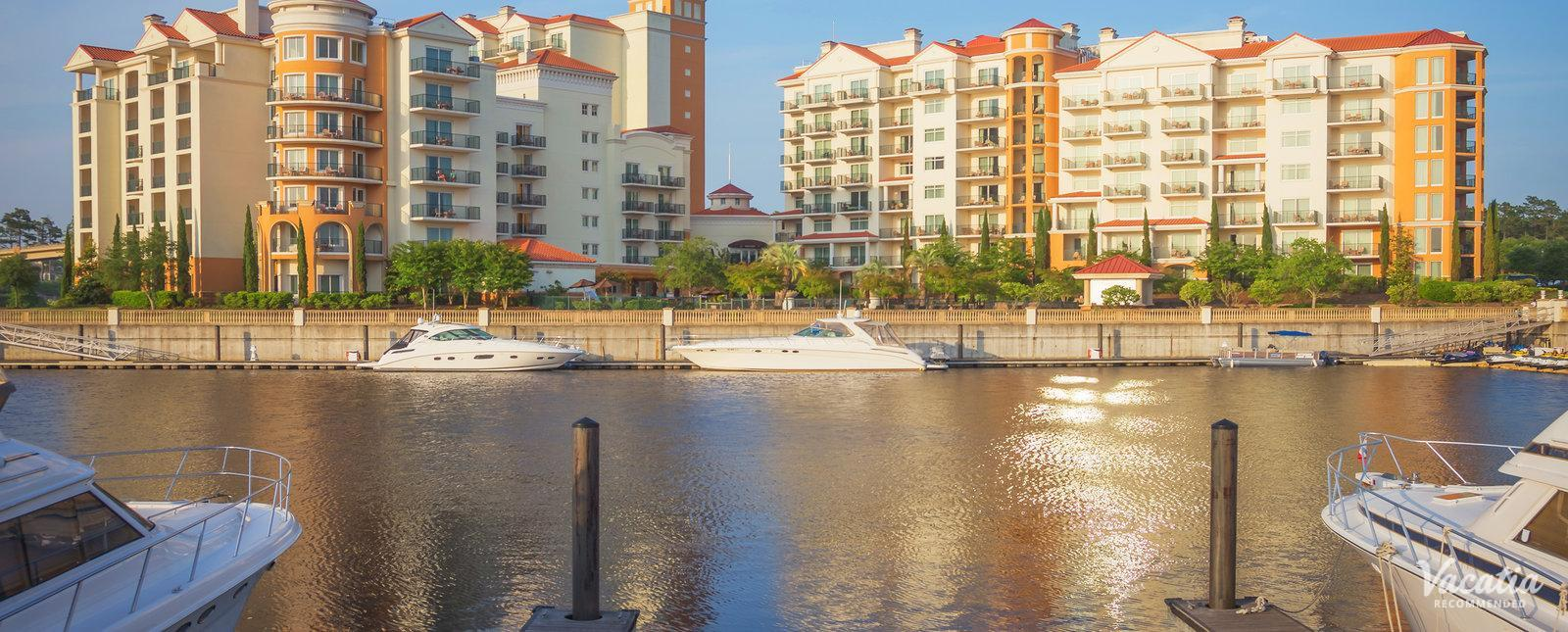 Marina Inn at Grande Dunes intercoastal waterway boat rental
