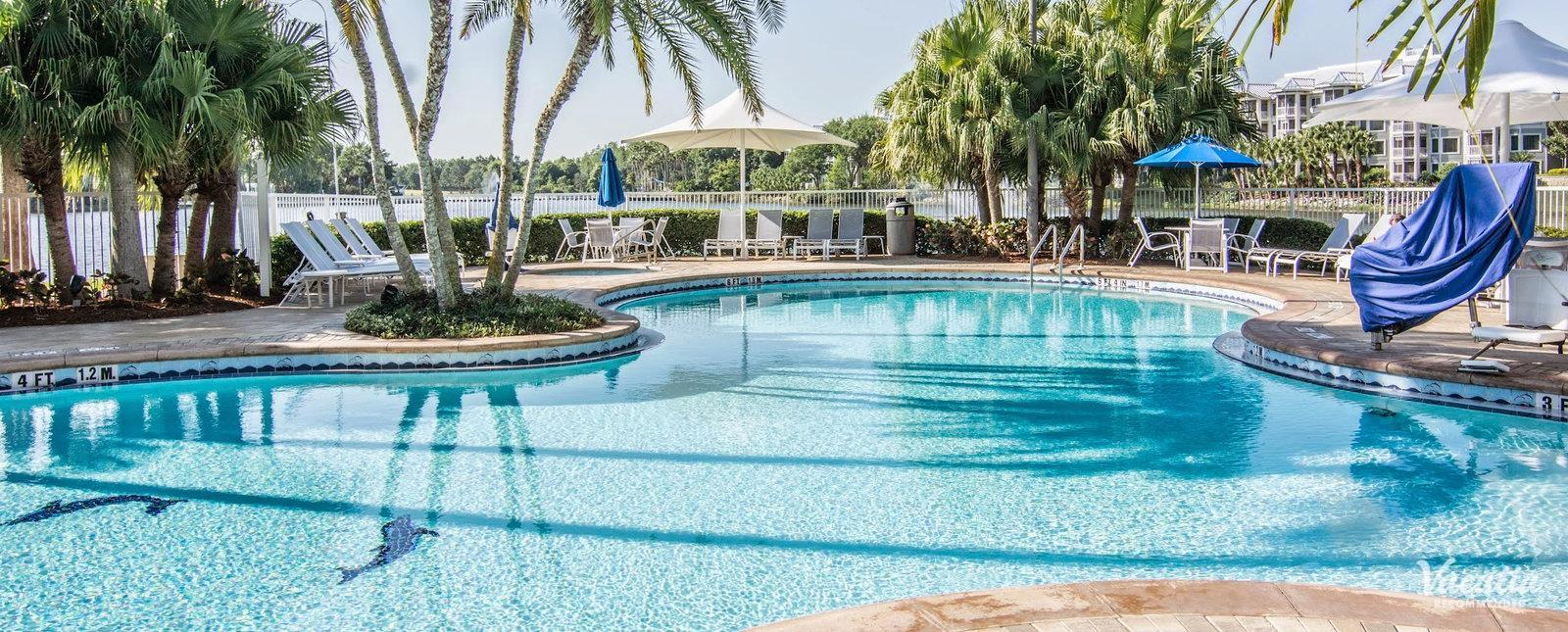 Marriott's Cypress Harbour family friendly pools