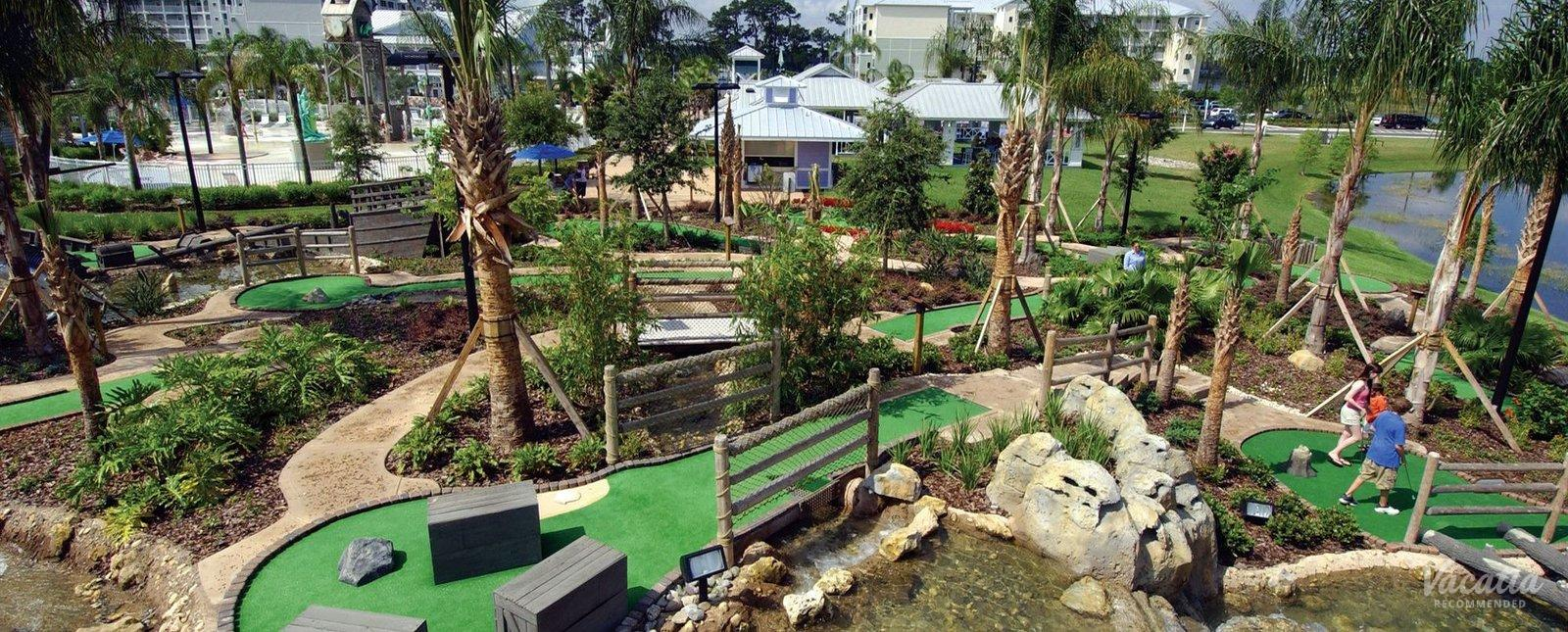 Marriott's Harbour Lake minigolf for families