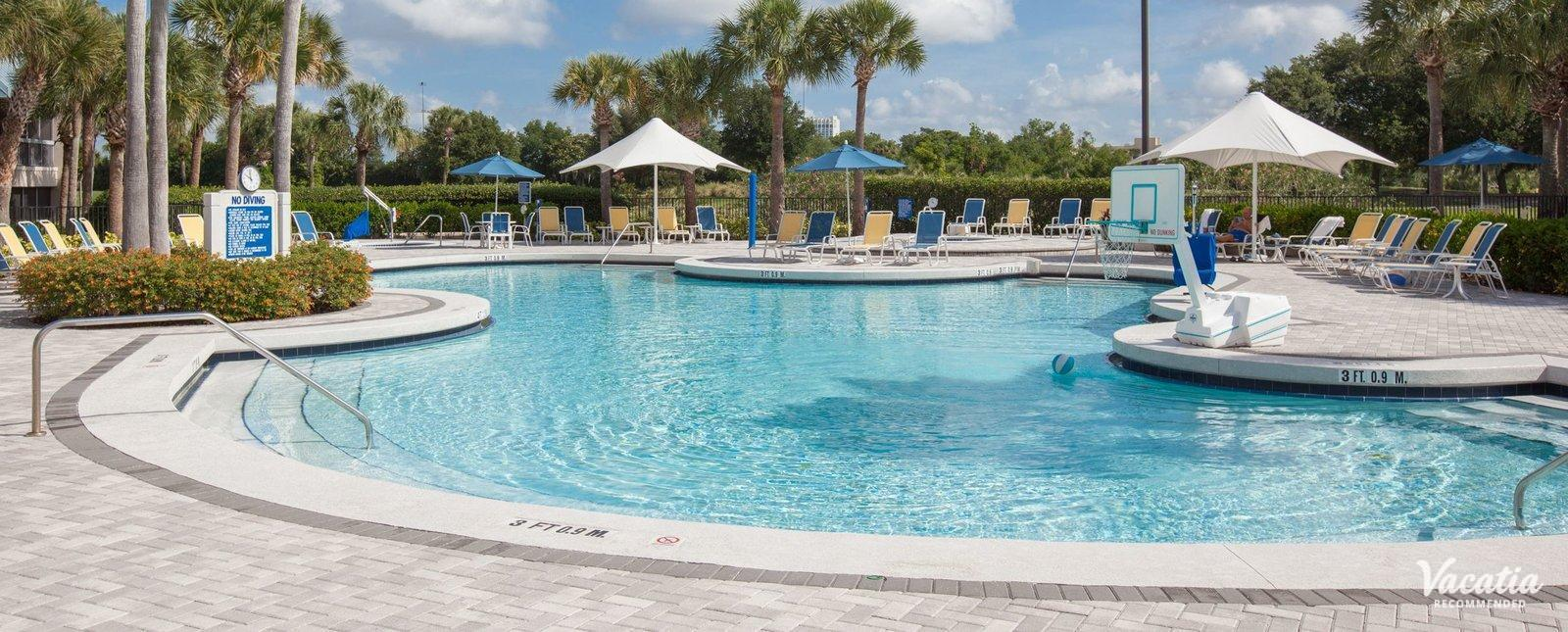 Marriott's Sabal Palms family friendly pools
