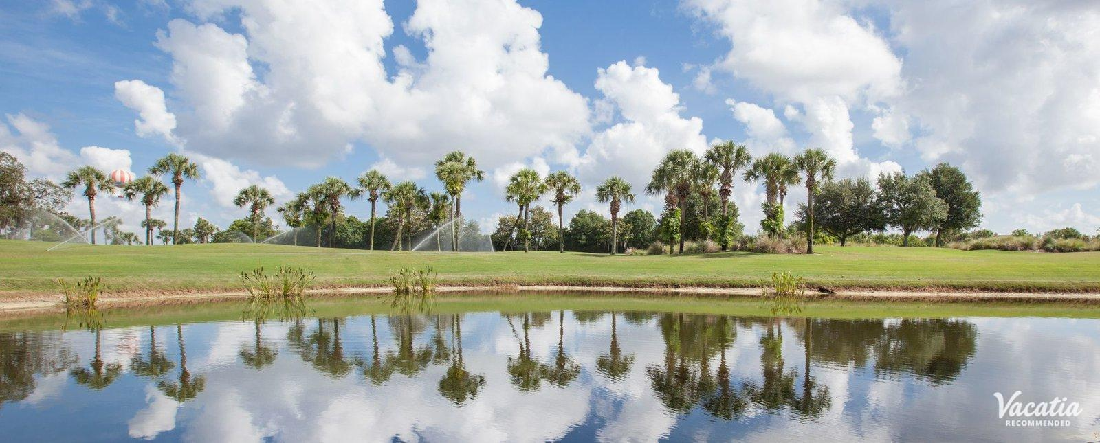 Marriott's Sabal Palms near golf course