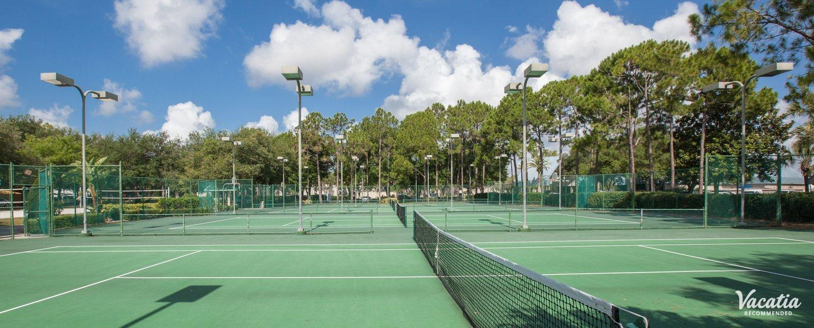 Marriott's Sabal Palms resort tennis courts