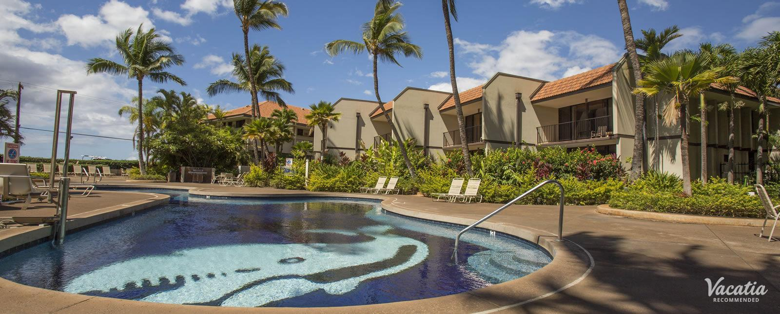 Maui Beach Vacation Club small resort pool
