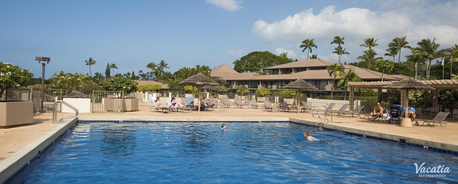 Maui Eldorado Kaanapali by Outrigger relaxing resort pool