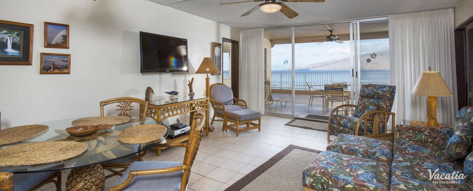 Menehune Shores condo rentals views