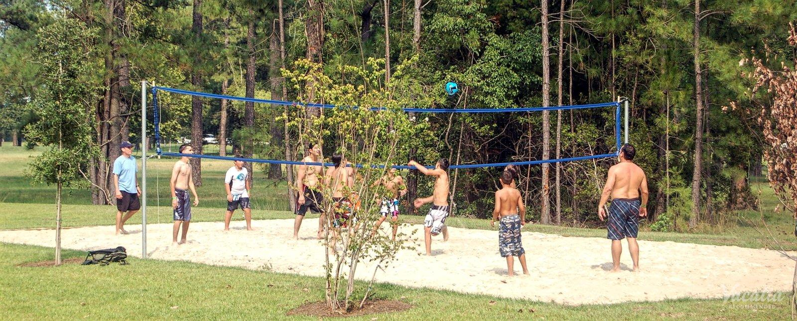 Myrtlewood Villas Volleyball Court
