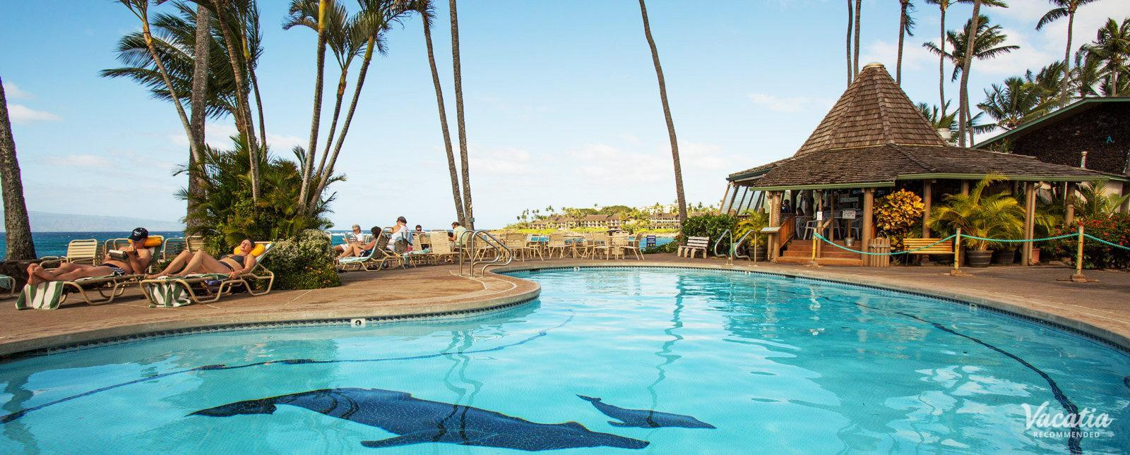 Napili Shores Maui by Outrigger familyfriendly resort pool