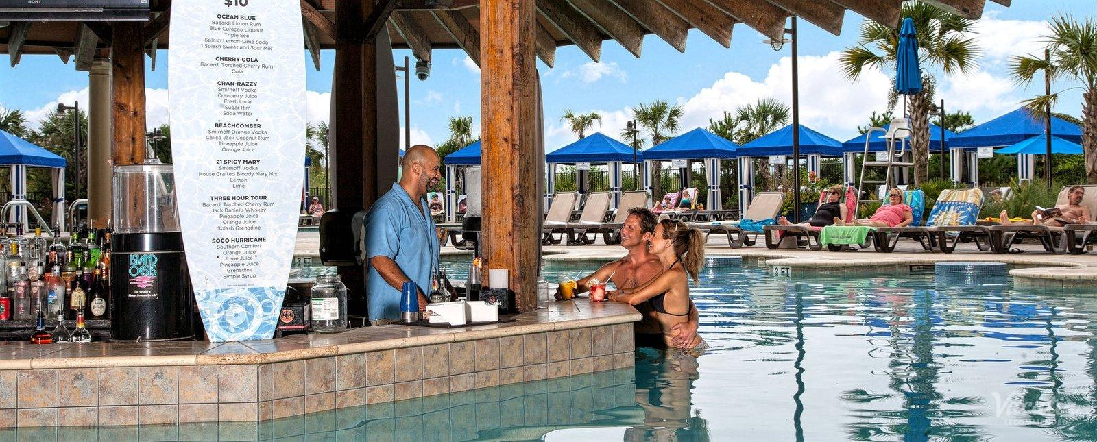 North Beach Plantation Resort Pool Bar
