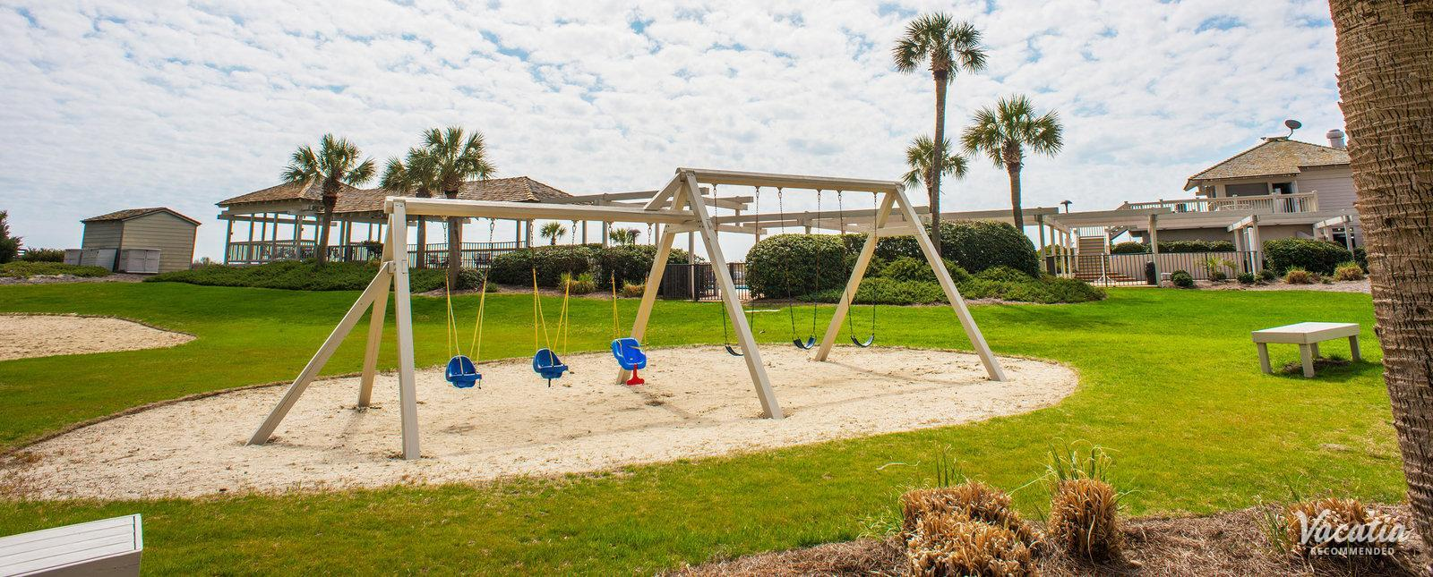 Ocean Creek Resort kids playground area