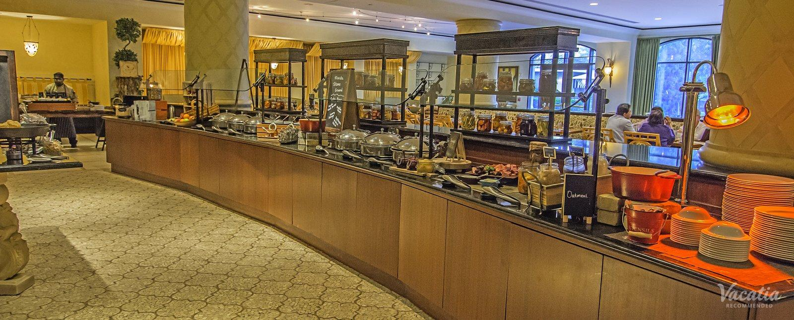 Omni Orlando Resort at ChampionsGate gourmet breakfast buffet