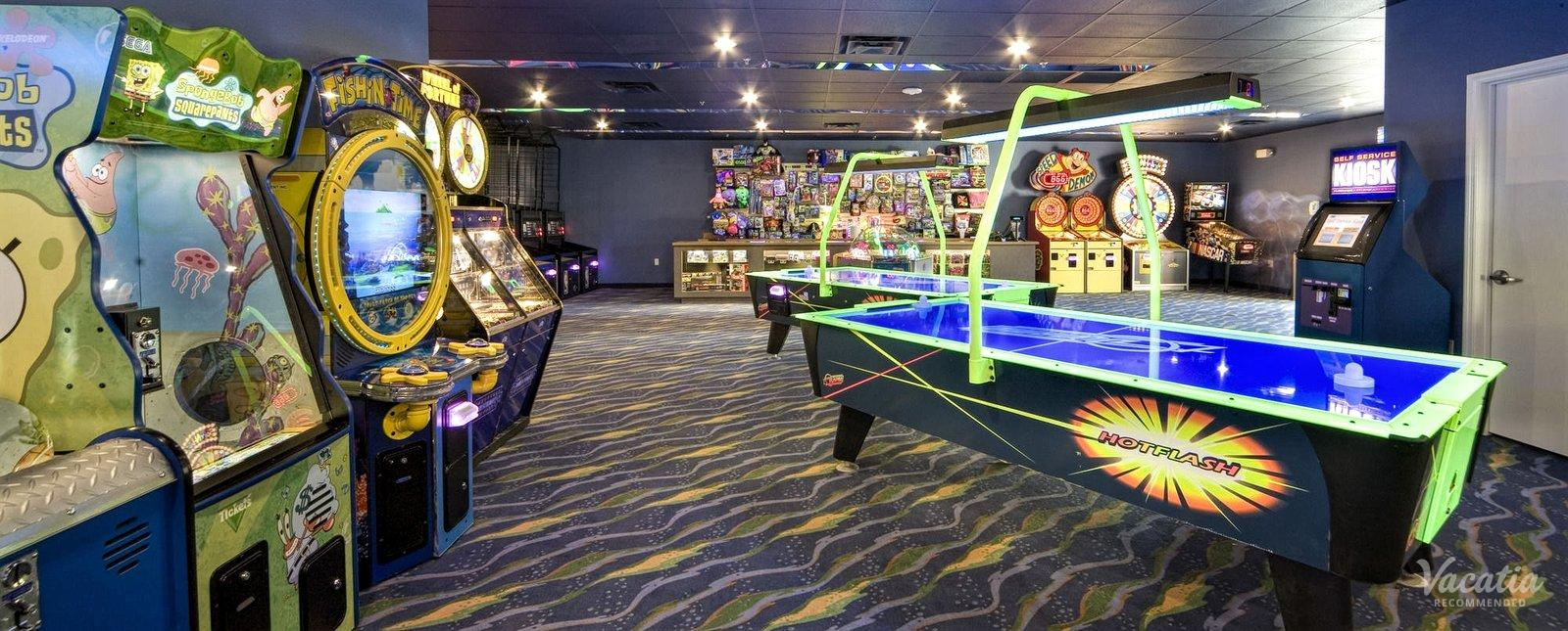 Orange Lake Resort video game arcade