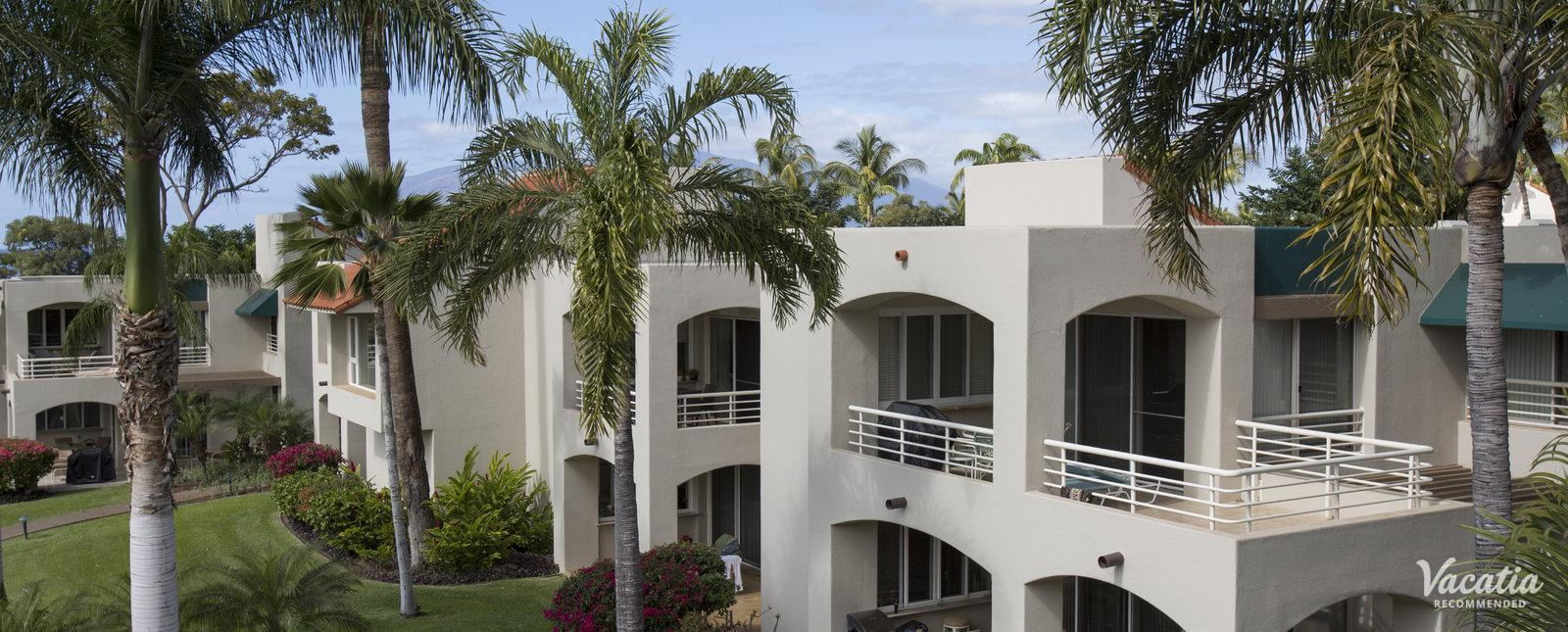 Palms at Wailea Maui by Outrigger grills condo rentals