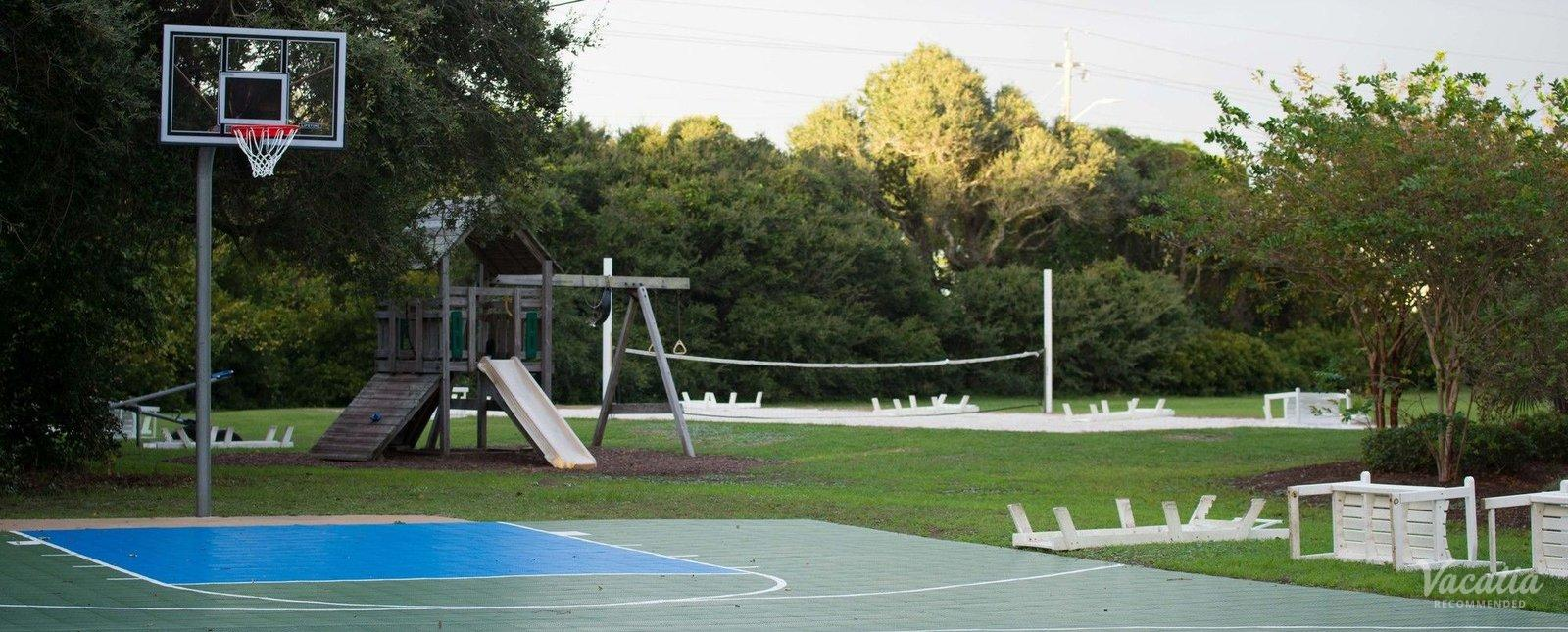 Peppertree Atlantic Beach Villas Basketball Courts