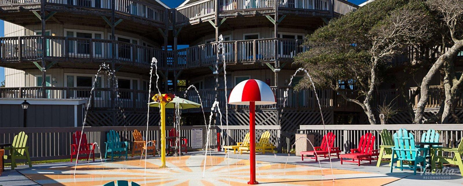 Peppertree Atlantic Beach Villas Kids Water Play Area