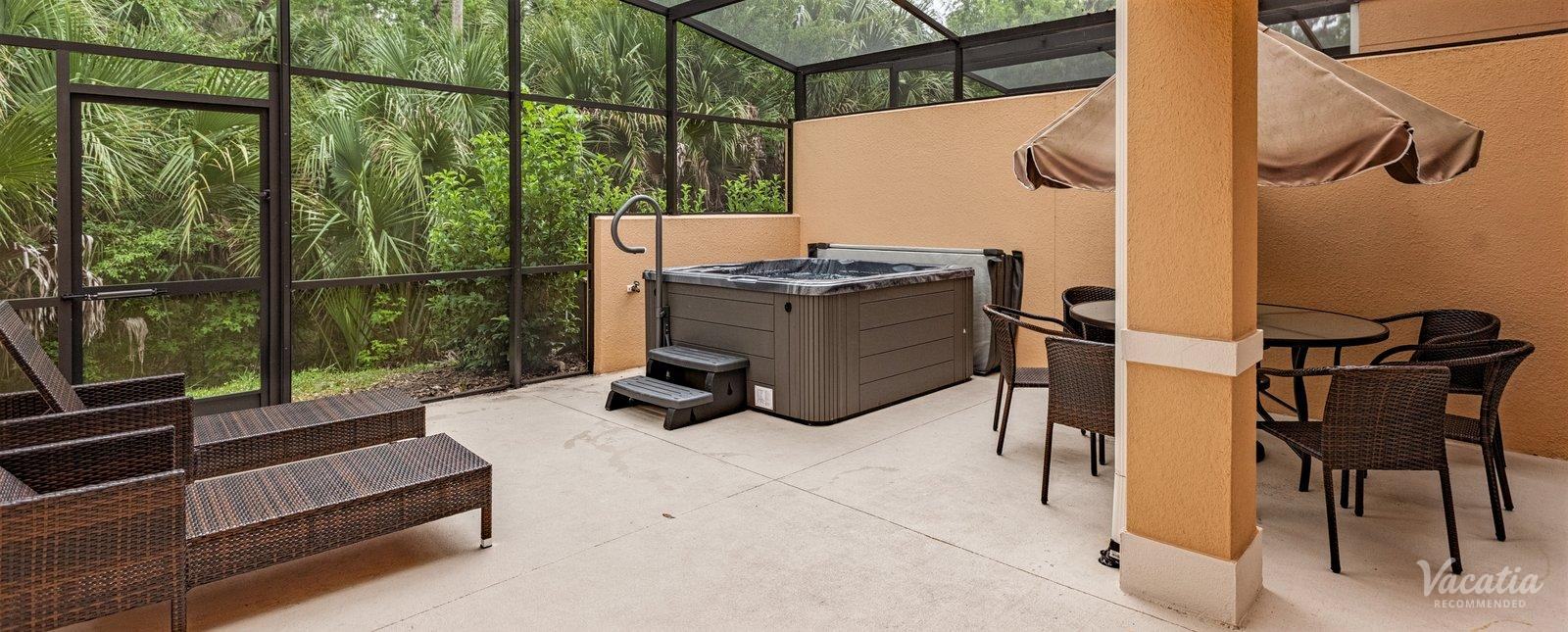 Regal Oaks Orlando Private Hot Tub