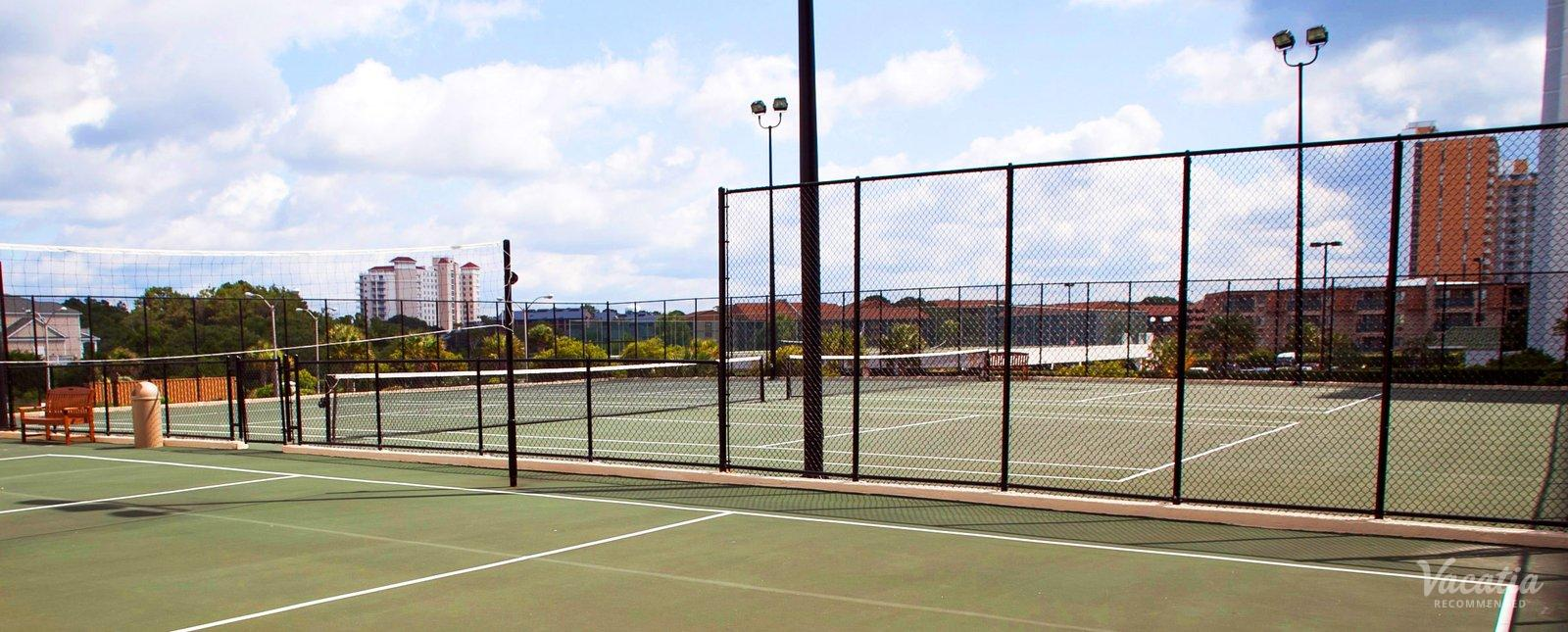 Sands Beach Club resort tennis courts