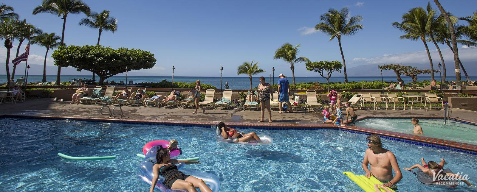 Sands of Kahana family friendly pool