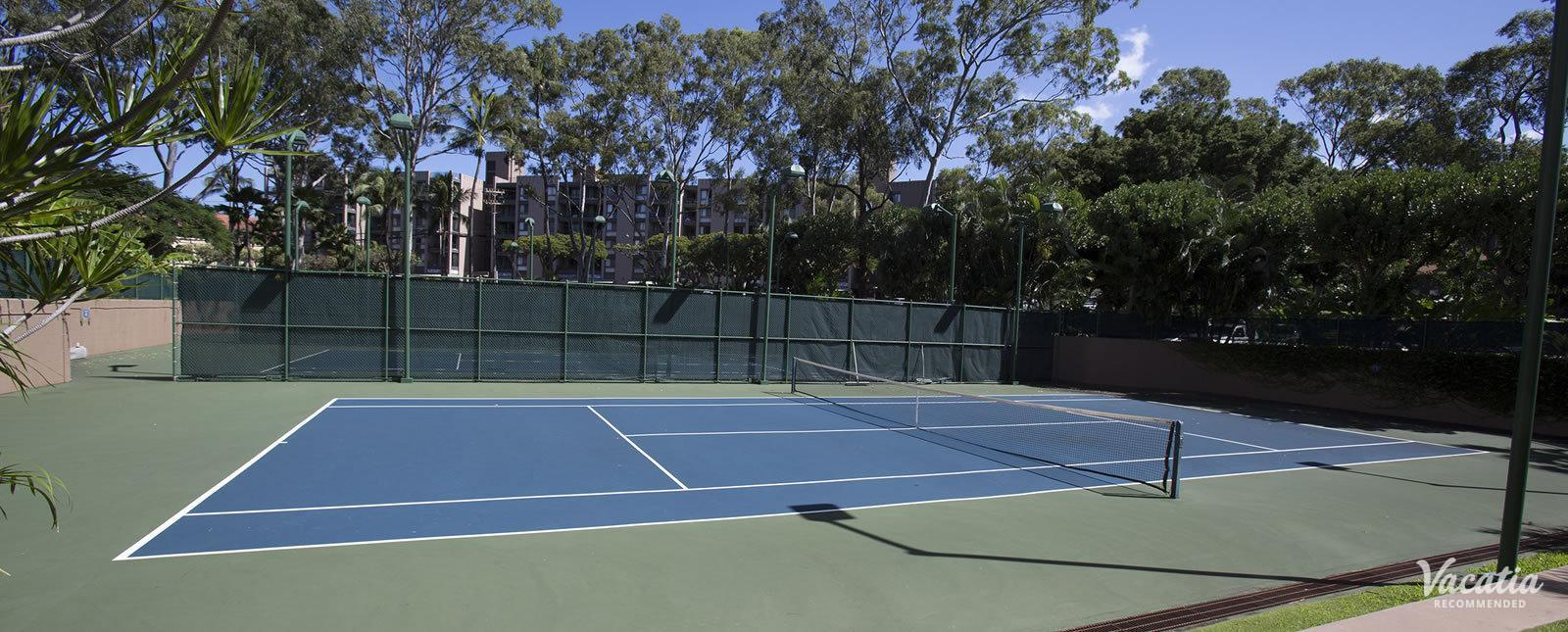 Sands of Kahana tennis courts games