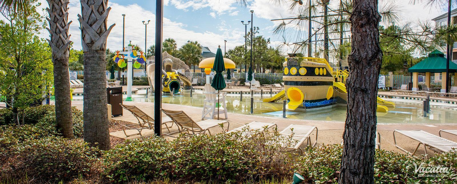 Sheraton Broadway Plantation Resort Villas kids playground area