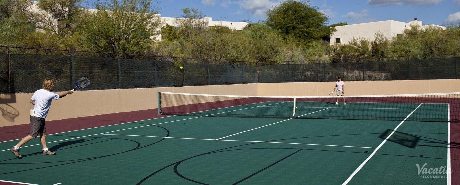 Starr Pass Golf Suites Tennis Court