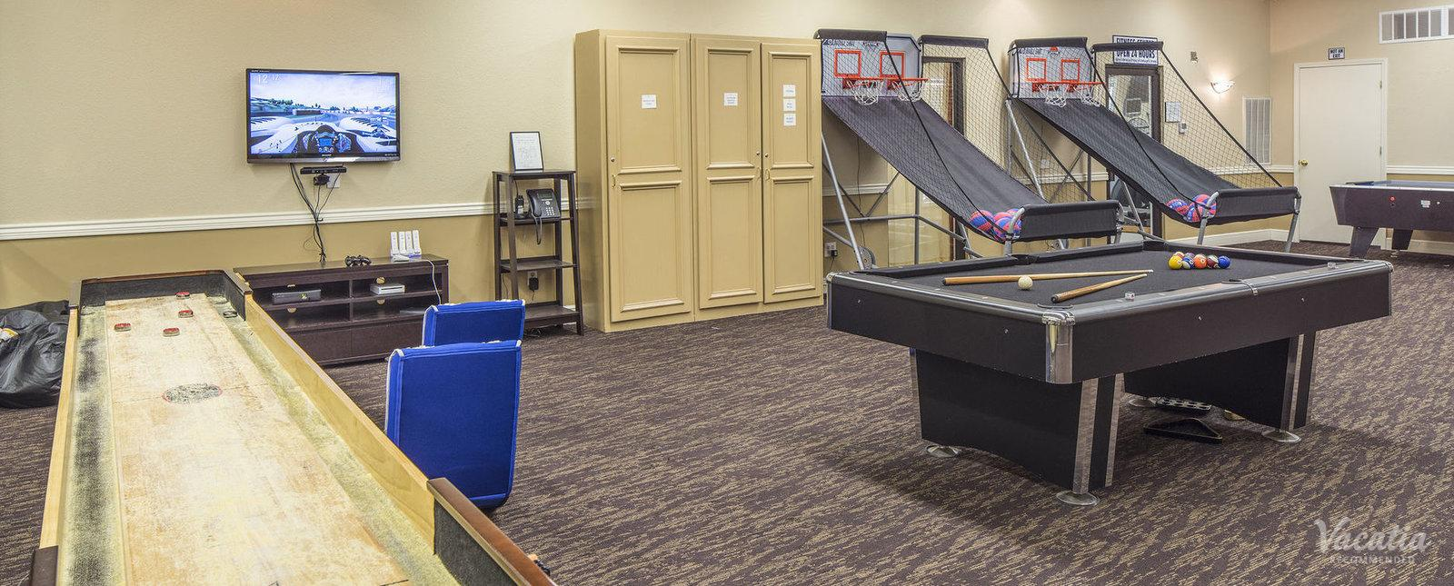 Suites at Fall Creek Game Room
