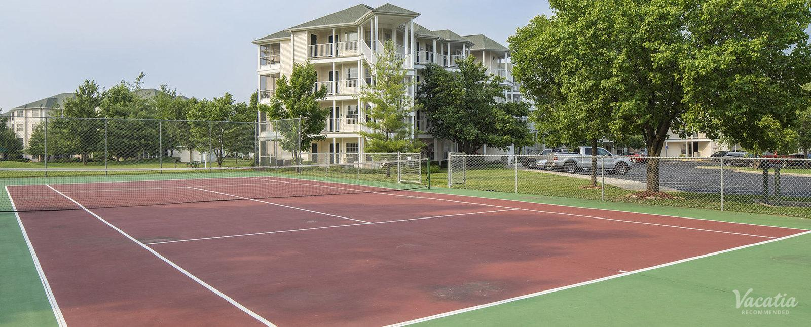 Suites at Fall Creek Tennis Courts