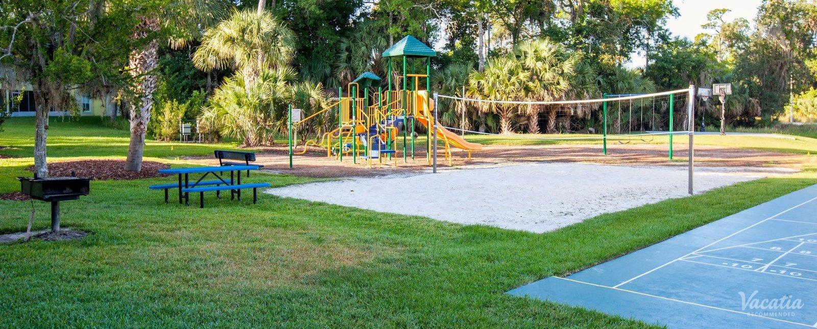 The Barefoot Suites playgrounds courts and games