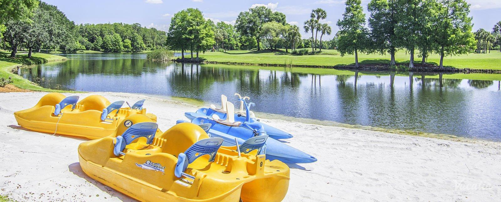 Villas of Grand Cypress rent kayak boats