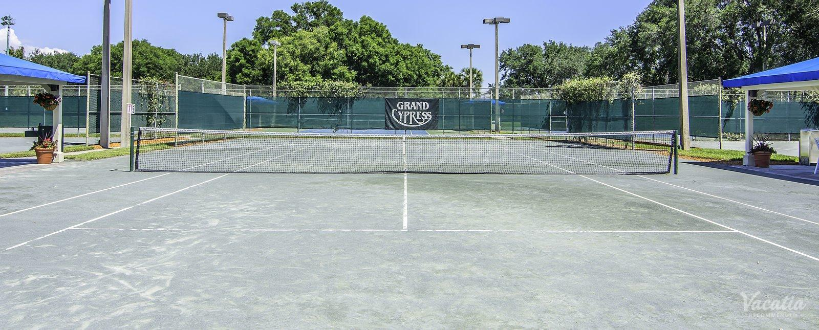 Villas of Grand Cypress resort tennis courts