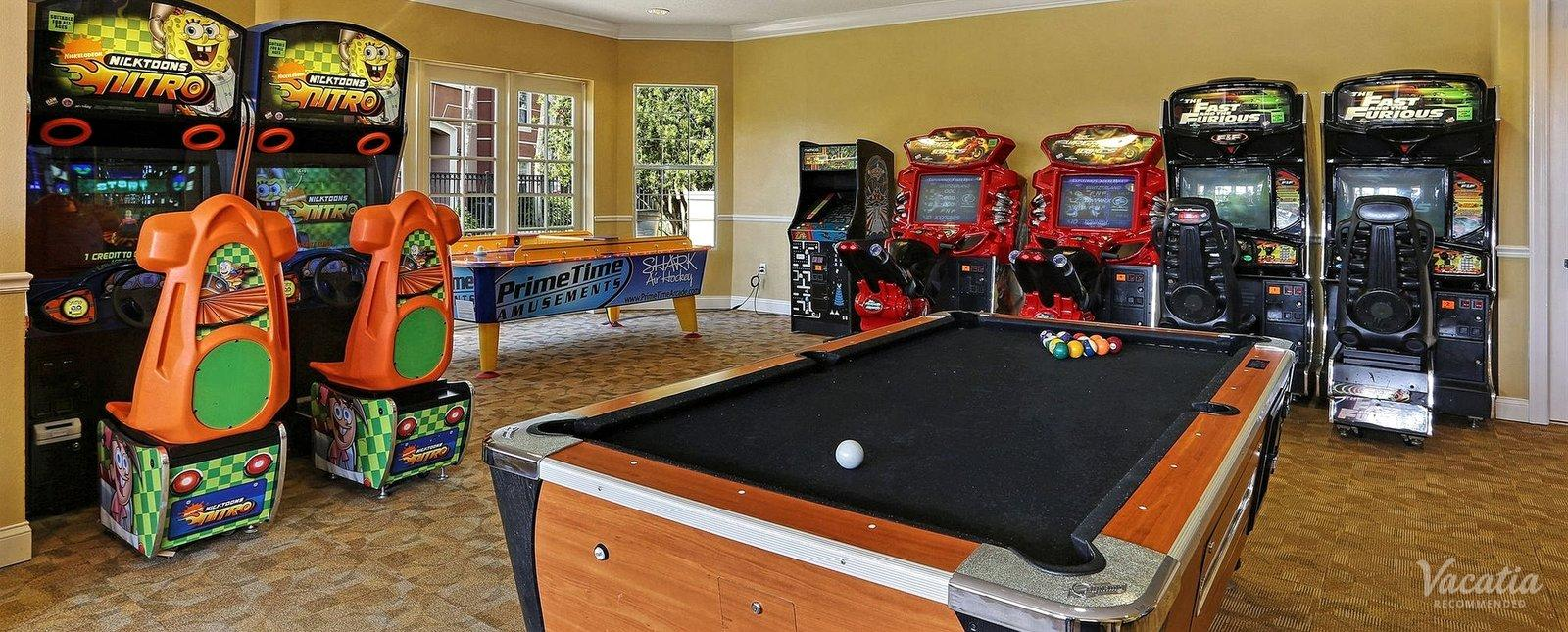 Vista Cay Resort Game Room
